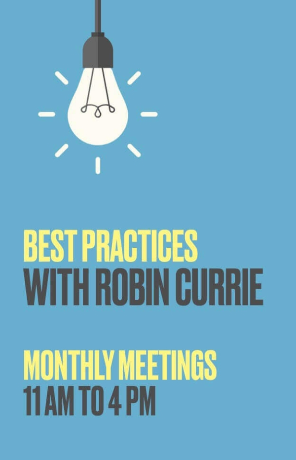 Monthly Best Practices Meetings