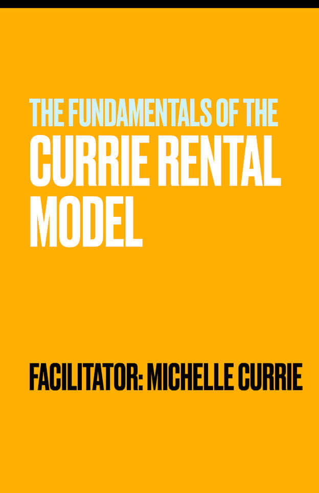 The Fundamentals of the Currie Rental Model